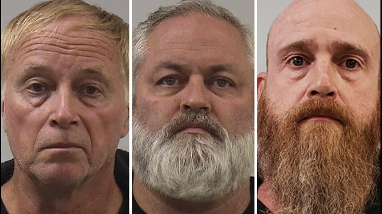 3 Men From Hampton Roads N C Arrested After Being Found