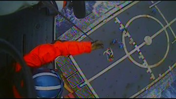 Coast Guard boat, helicopter rescues man off Cape Hatteras