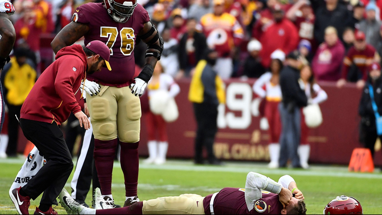 Redskins lose game AND Alex Smith