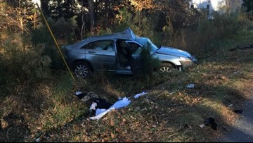PHOTOS: One person seriously injured in four-vehicle crash