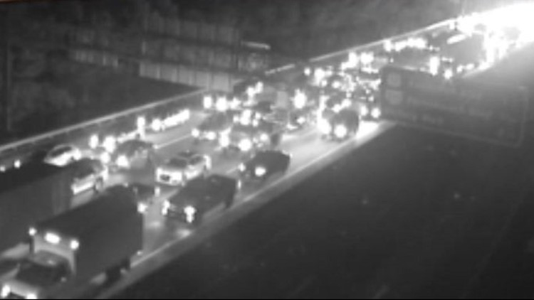 Lanes reopen on I-264 at Downtown Tunnel after tractor-trailer fire