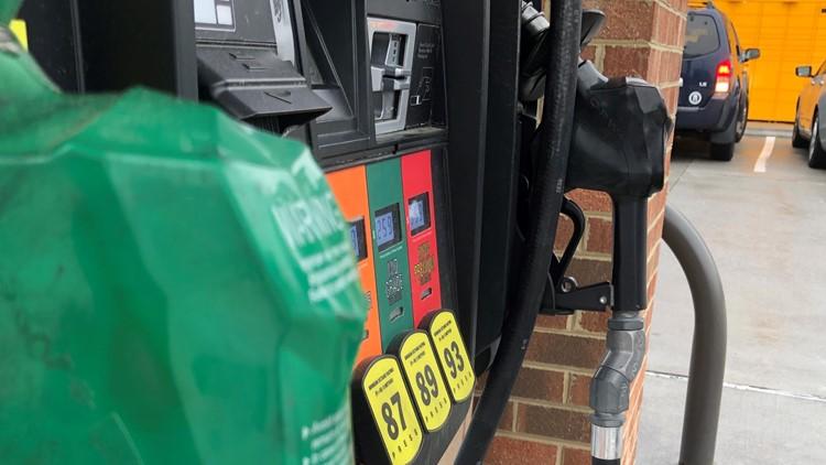 Gas shortage fuels higher prices across Hampton Roads