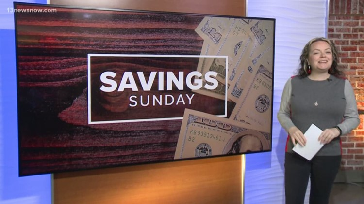 Savings Sunday for the week of December 1, 2019