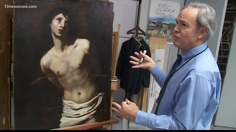 INSIDE ACCESS: Art restoration at the Chrysler Museum
