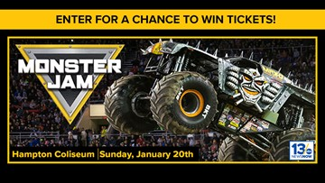 Monster Jam sweepstakes rules