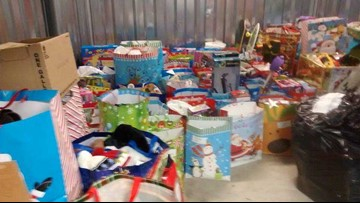 Local nonprofit collects gifts for children in homeless, domestic violence shelters
