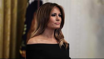 First Lady Melania Trump visits Hampton Roads
