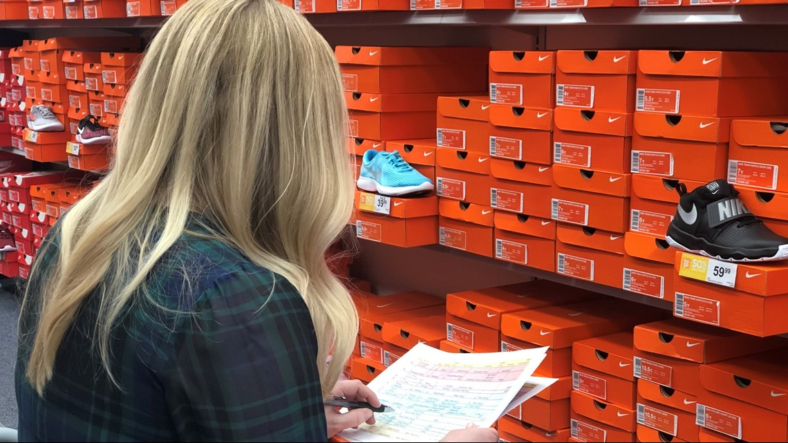 Company donates $7,000 in shoes to kids in need