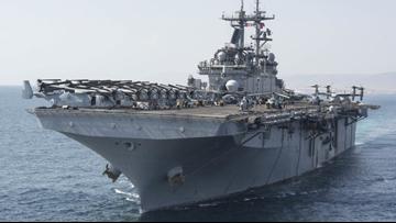 4,500 sailors, marines on Kearsarge, Arlington to return to Norfolk