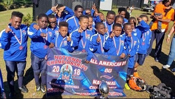 Local youth football team with historic national championship win in Florida