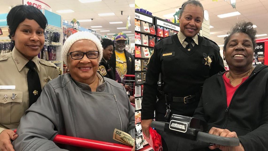 Hampton deputies take seniors Christmas shopping