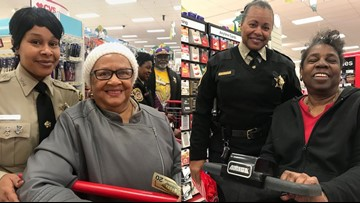 Hampton deputies take seniors Christmas shopping