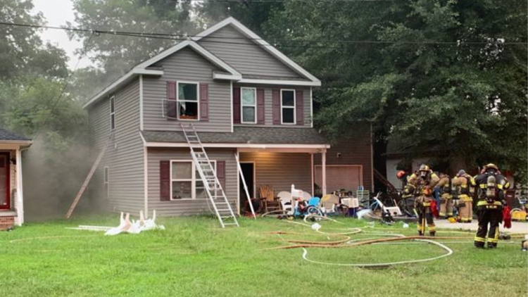 Family displaced following house fire in Chesapeake