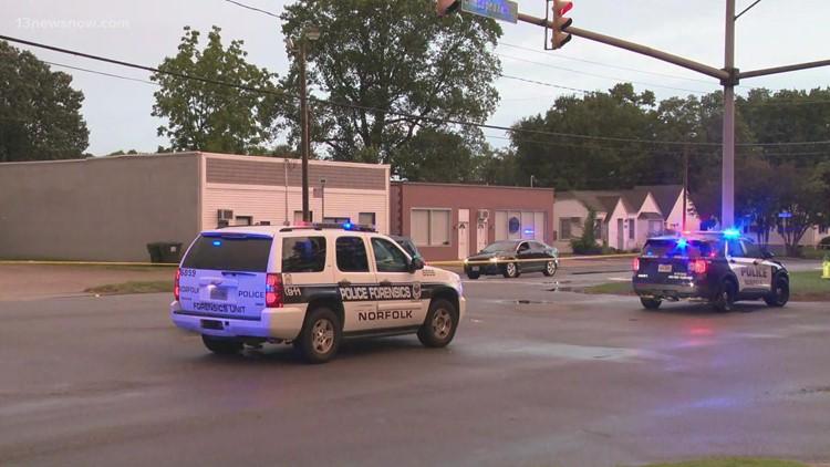 Pedestrian seriously injured in hit-and-run crash on Chesapeake Blvd. in Norfolk