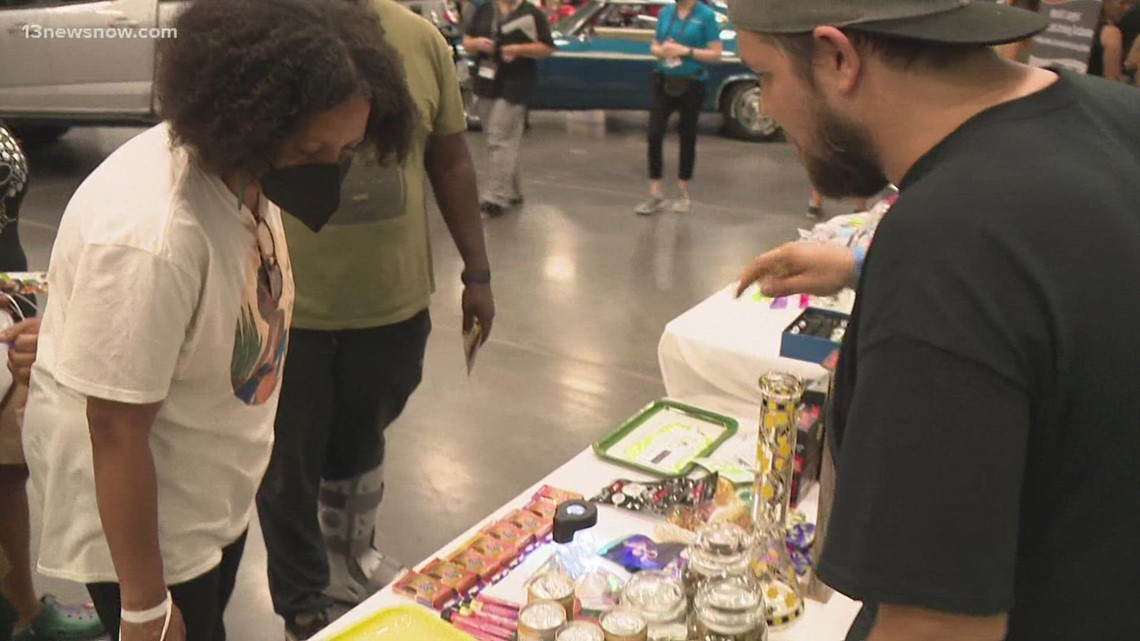 First ever cannabis festival in Virginia Beach held at Convention Center