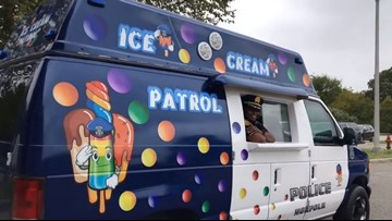 'It's brilliant' | Professor says Norfolk Police's ice cream truck will help deter, solve crime