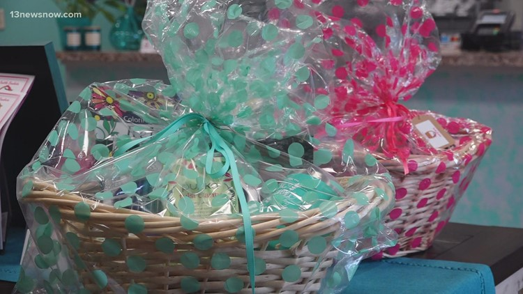 Battle Baskets: Williamsburg pharmacist supports the fight against breast cancer