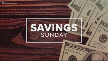 Savings Sunday deals of the Week for Sept. 1, 2019
