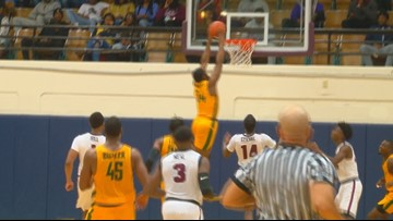 Thomas scores 19 as NSU improves to 6-0 in MEAC