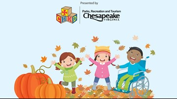 CHKD, City of Chesapeake hosting FallFest Halloween event for children with special needs
