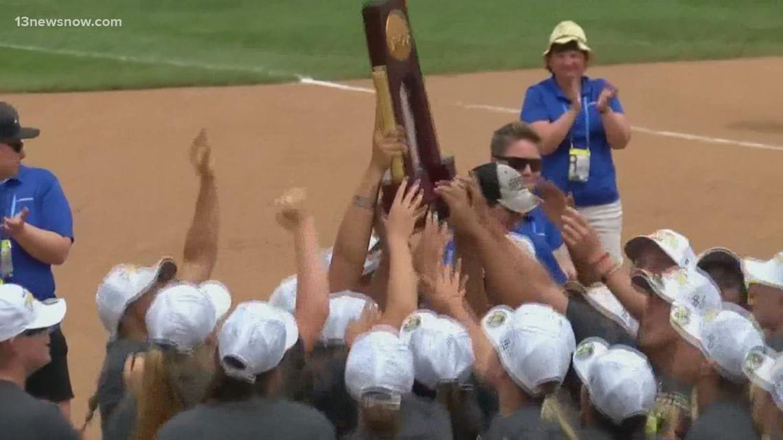 Hail to the champ: Virginia Wesleyan softball does it again