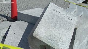 Stolen Orville Wright bust found on Kill Devil Hills beach