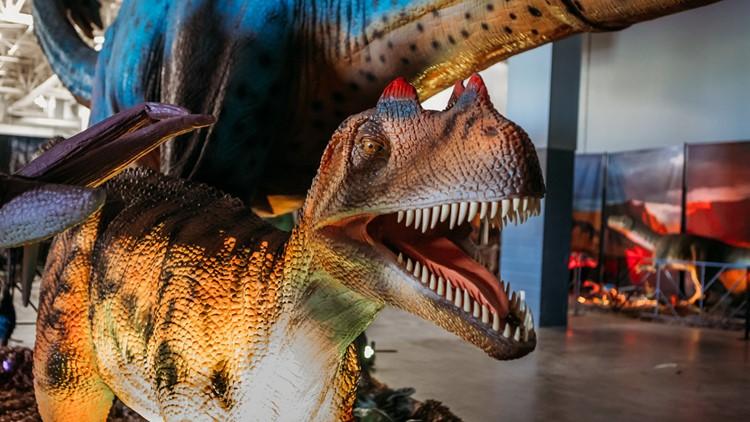 Over 100 life-sized animatronic dinosaurs coming to Hampton Roads