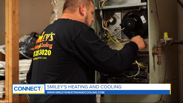 CONNECT with Smiley's Heating and Cooling: Preparing for cold weather.