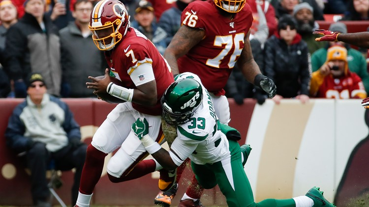 Redskins start off slow; lose to Jets 34-17