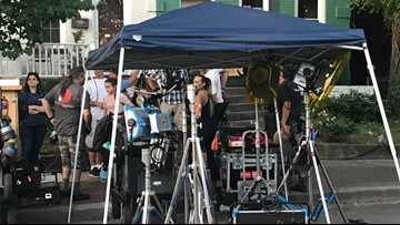 Movie filming in Ghent means money for local businesses