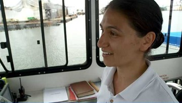 First woman to captain the Elizabeth River Ferry to set sail soon