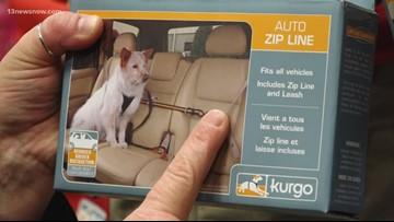 BENTLEY'S CORNER: Pet car restraints