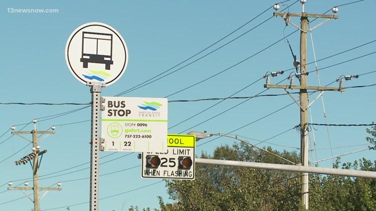 Virginia public transit finds reduced ridership, zero fare