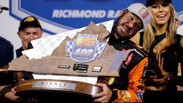 Truex wins again at Richmond