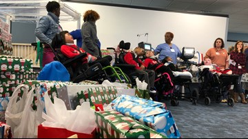 Hundreds of motorcyclists deliver gifts to sick kids in Norfolk hospital