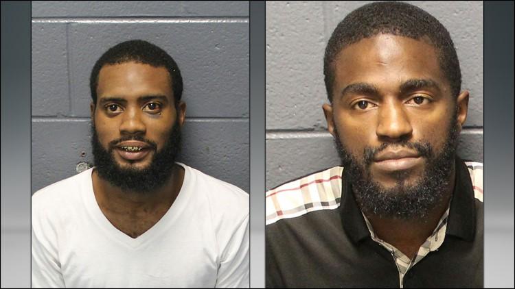 Jamar Shaheem Brown (Left) and Mark Edward Wilson II (Right)