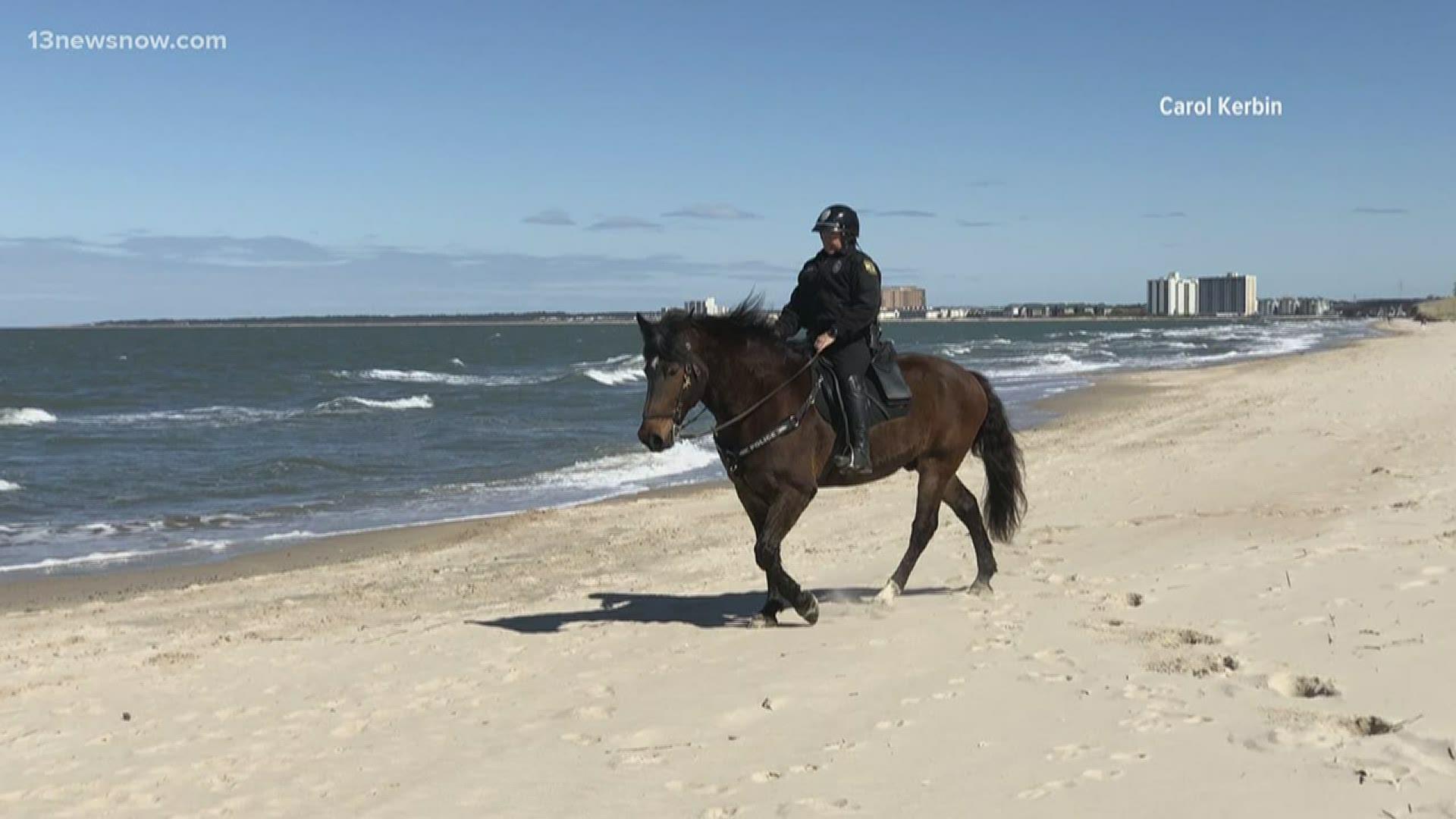 Virginia Beach Police Handed Out 2