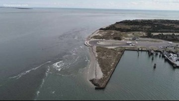 Proposal to build steel seawall to protect northern end of Ocracoke Island