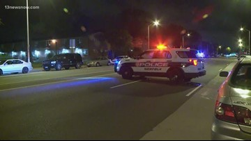 Two people hurt in overnight shooting on Brambleton Avenue