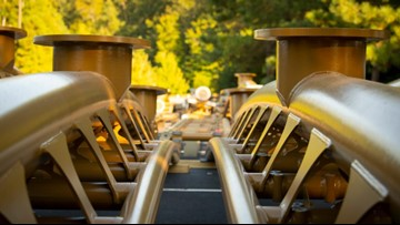 Busch Gardens releases photos of latest Pantheon construction update
