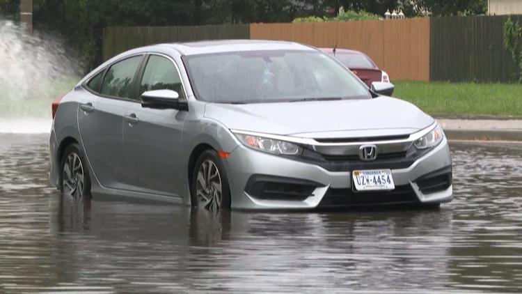 'Sunny-day' flooding an increasing threat in Hampton Roads