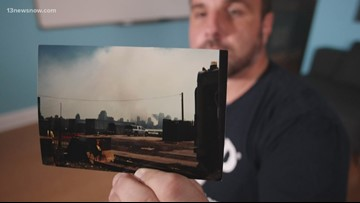 Virginia Beach man shares details about being in South Tower on September 11, 2001