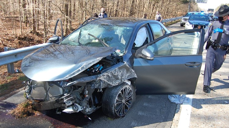 Virginia State Police recovers stolen guns after car loses control driving 100+ mph on I-64