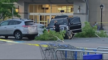 Chesapeake, DEA investigation ends with shooting at Virginia Beach Walmart