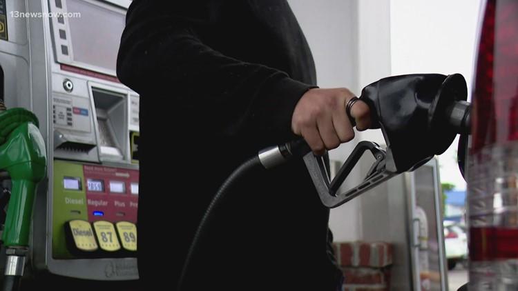 Struggling to find gas in Hampton Roads