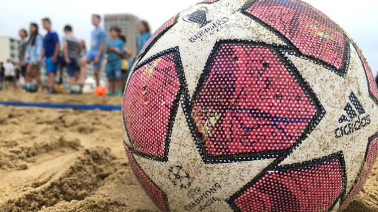 Crowds of players, spectators flock to Virginia Beach for sand soccer championships