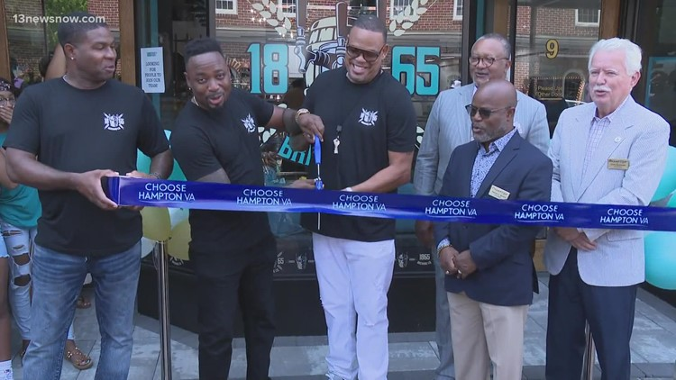 Hampton Roads' first Black-owned brewery opens its doors