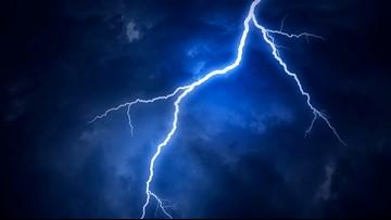 Swimmer struck by lightning in Kitty Hawk
