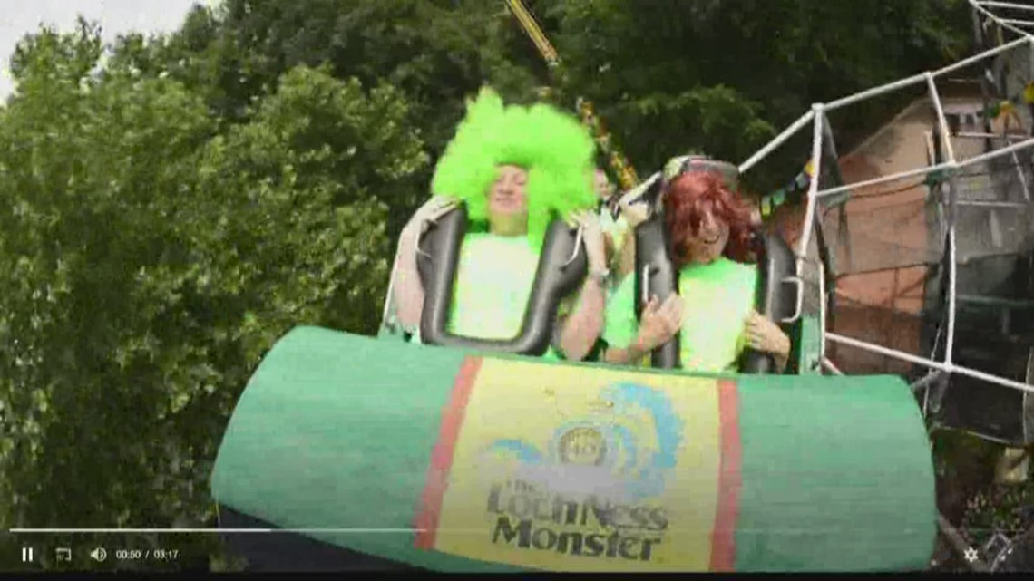 Loch Ness Monster celebrates 40 years at Busch Gardens Williamsburg ...