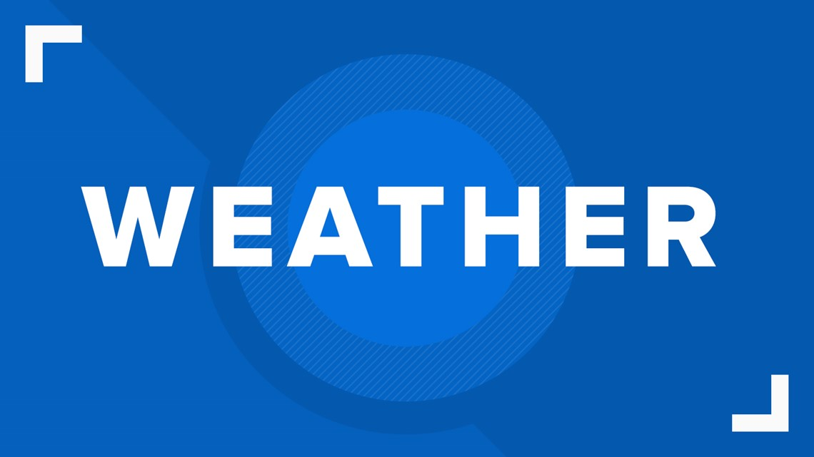 FORECAST: Cold front to bring rain, falling temperatures Thursday